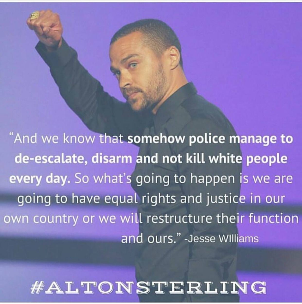Pin By Matthew Cooper On Boogie Alton Sterling Jesse Williams Equal Rights