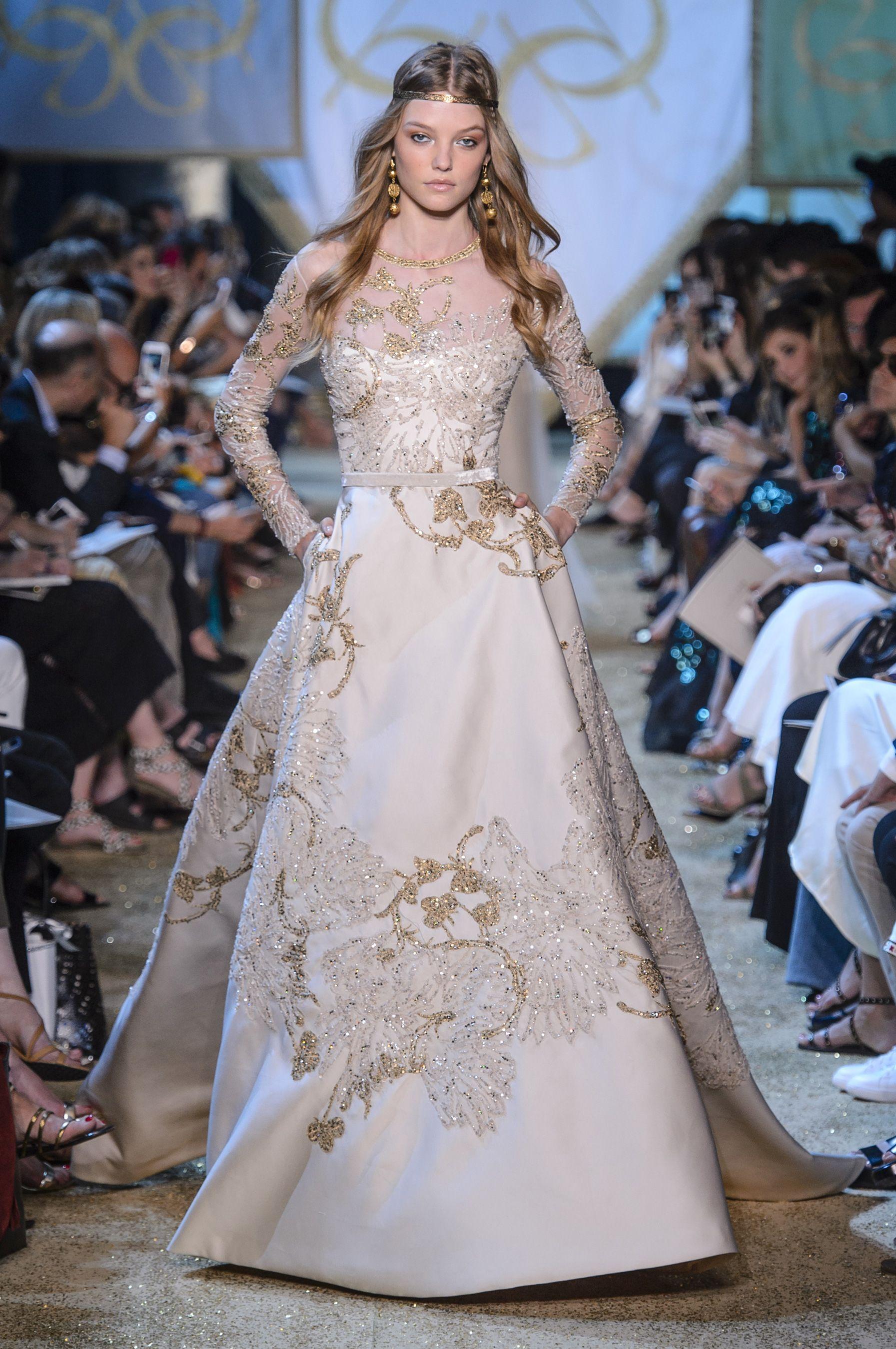 See elie saabus fairytale couture show weiß pinterest winter