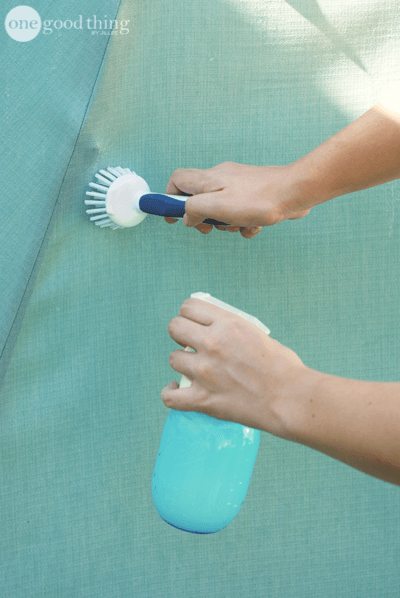 How To Clean Your Patio Umbrella Clean Patio Fun To Be One Fabric Awning