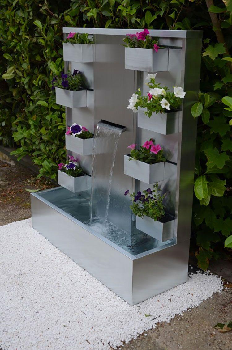Favoloso 25 Modelli di Fontane da Giardino Moderne di Design   MondoDesign WB17