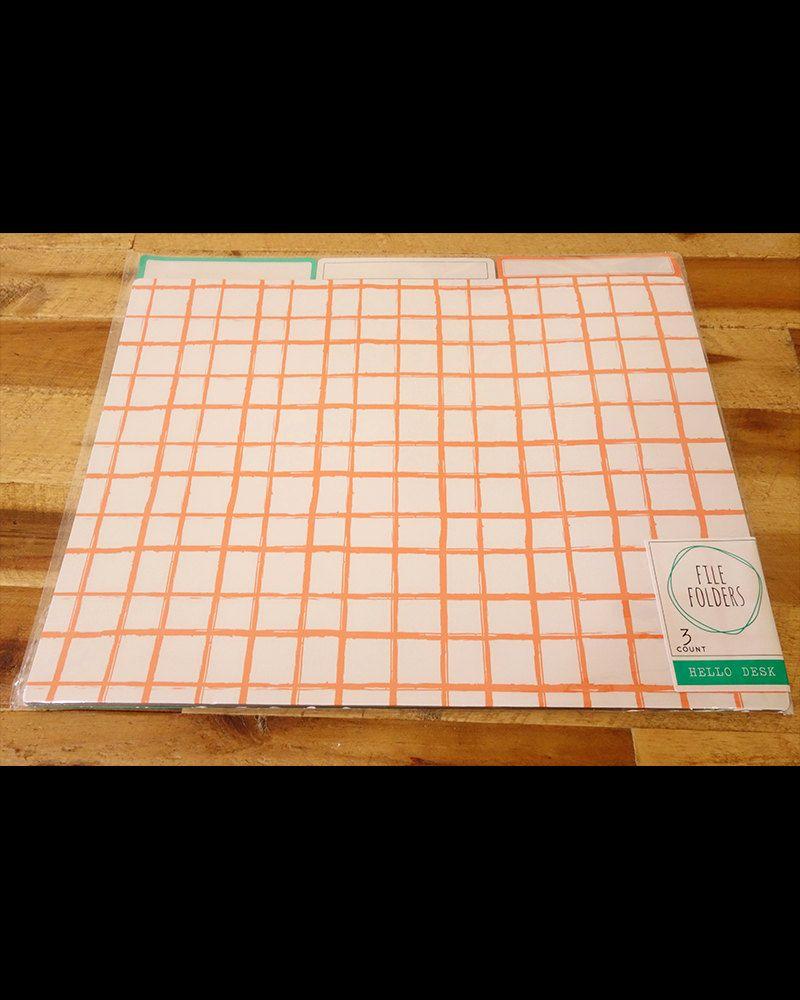 Calendar Planner Target : Target dollar spot apricot file folders page flags target eric