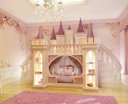 pin by alison wonderland on houses inside and out in 2019 princess bunk beds kid beds. Black Bedroom Furniture Sets. Home Design Ideas