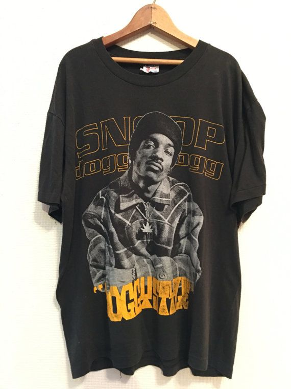 24afaad7ee1d 1993 SNOOP DOGGY DOGG doggystyle Vintage T Shirt Promo // Size L 90s Hip Hop