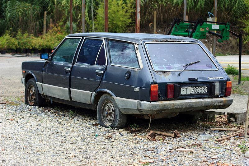 Fiat 131 Panorama 2500 Super D Abandoned Cars Fiat Car Barn