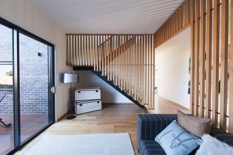 Treppengeländer selber bauen - Anleitung und 50 Beispiele - holzverkleidung innen modern