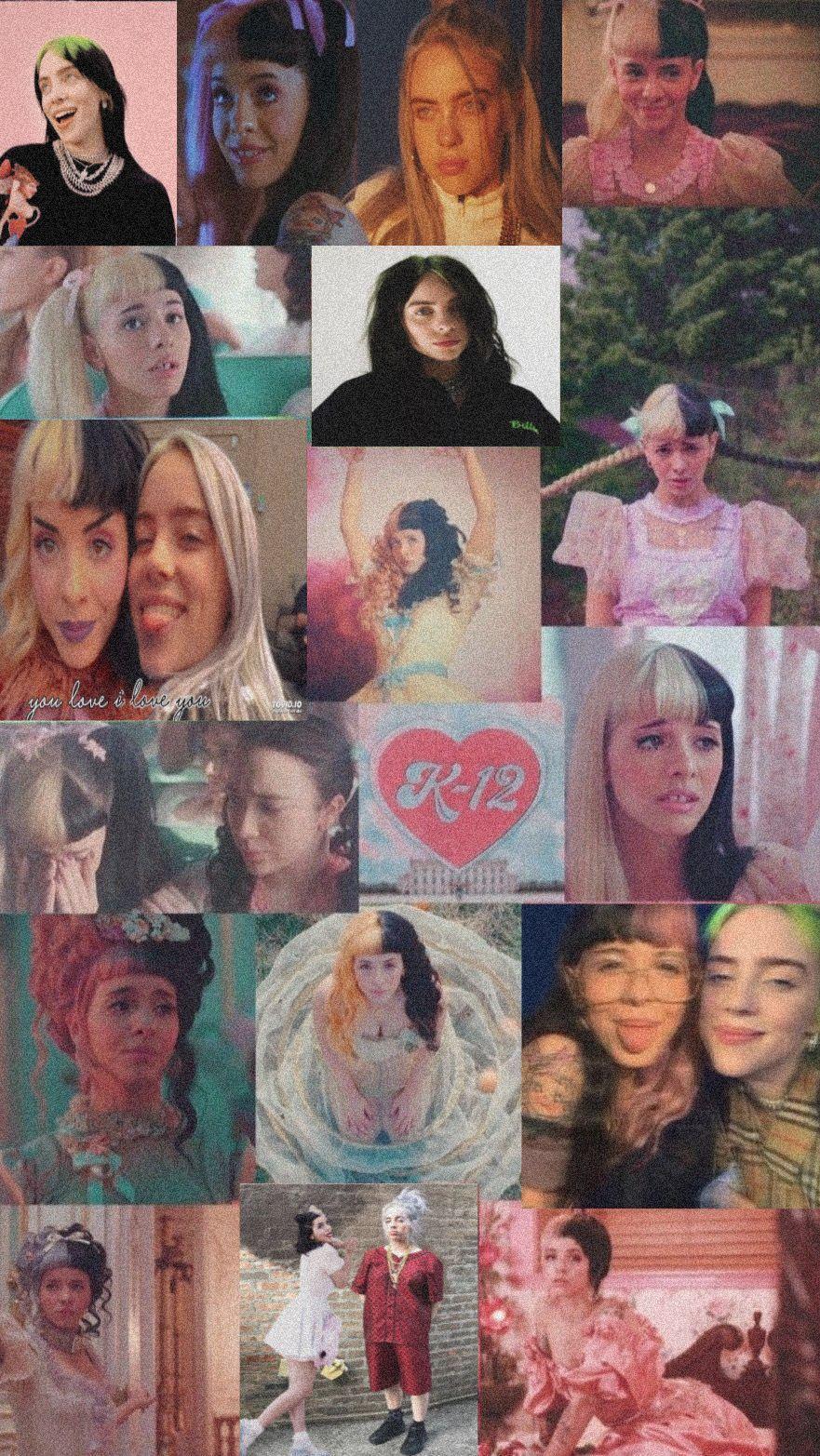 Abbiemaguire7 Melanie Martinez And Billie Eilish Wallpaper Melanie Martinez Melanie Martinez Music Billie Eilish