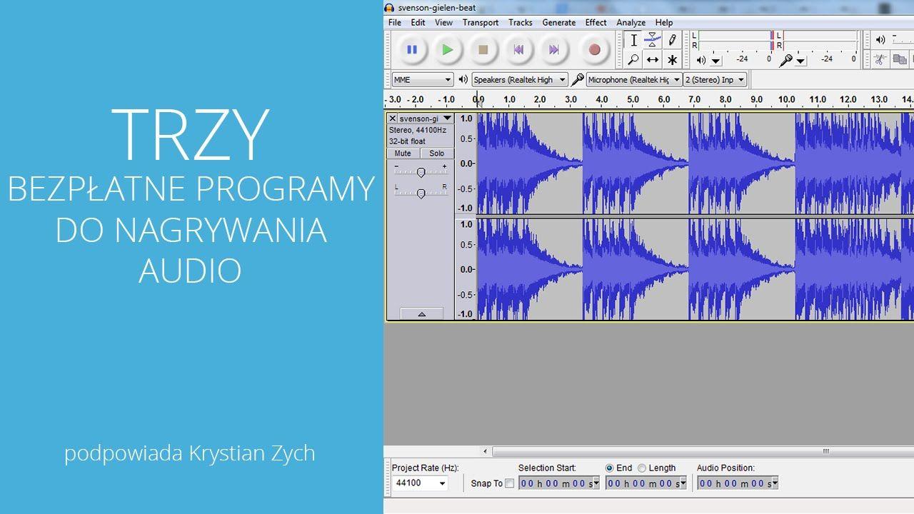 3 bezpłatne programy do nagrywania dźwięku Diagram, Bar