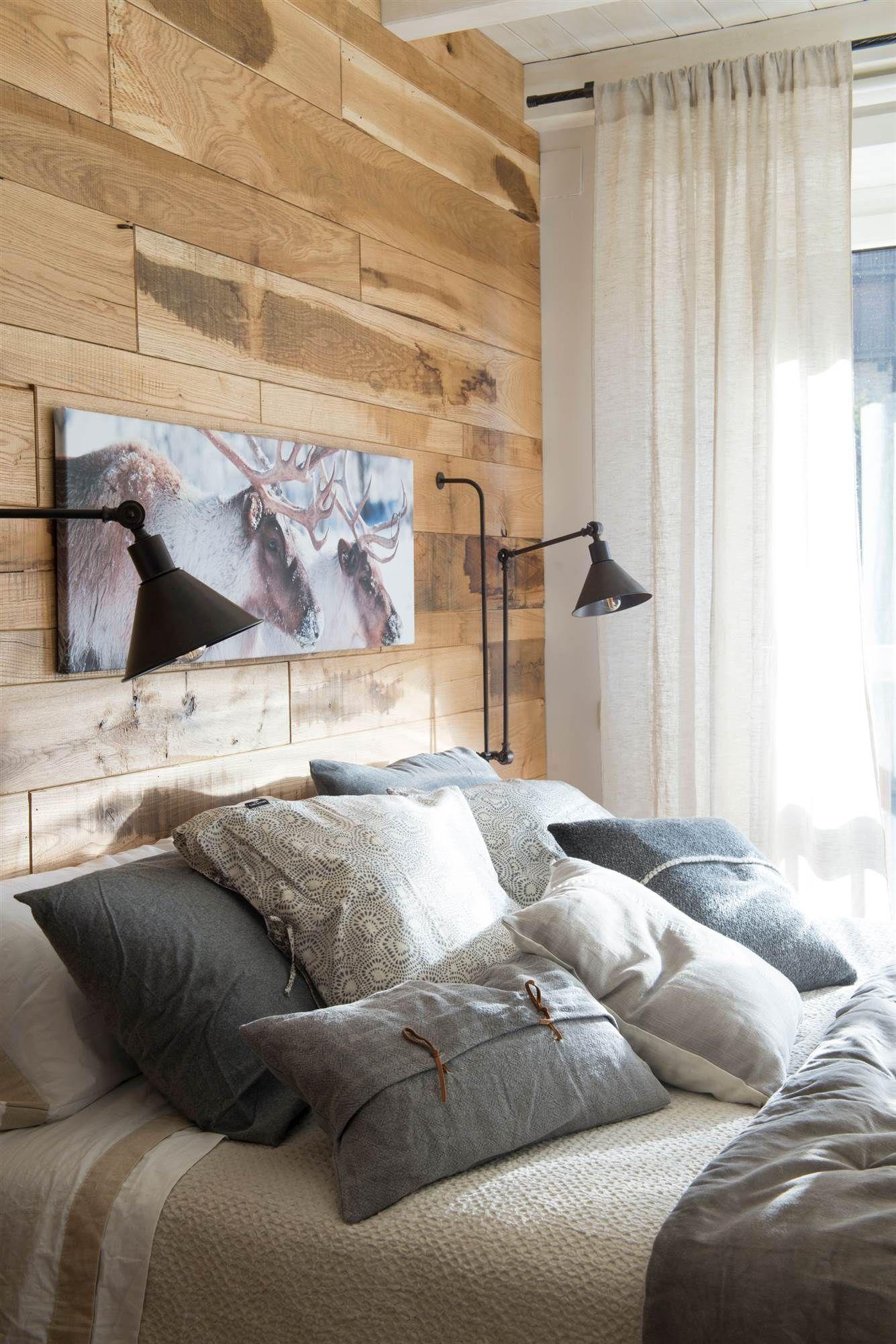 Pon un cabecero que no ocupe en 2019 deco pinterest - Decoracion armarios dormitorios ...