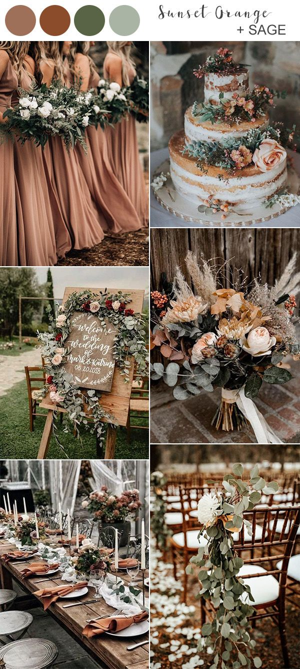 Best Fall Wedding Colors for 2020 You'll Fall In Love With – EmmaLovesWeddings