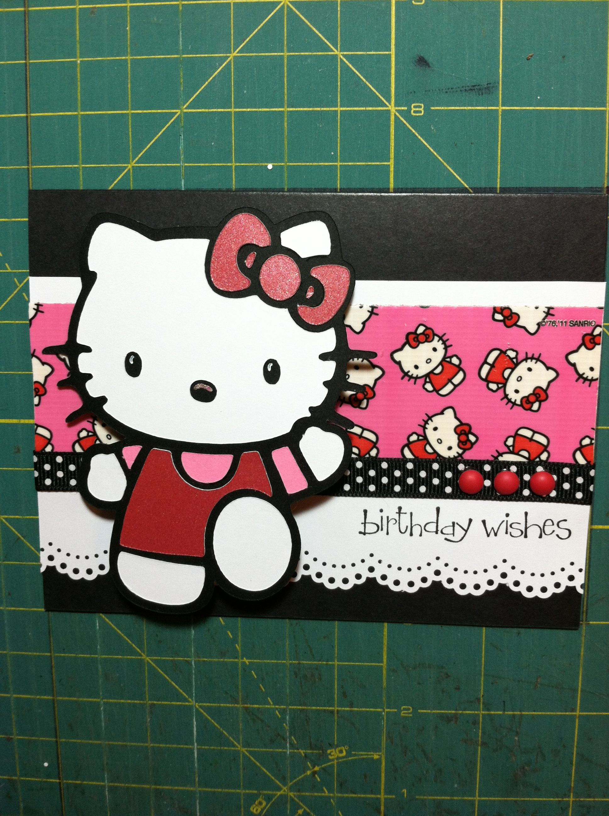 Scrapbook ideas hello kitty - Hello Kitty Scrapbook Paper
