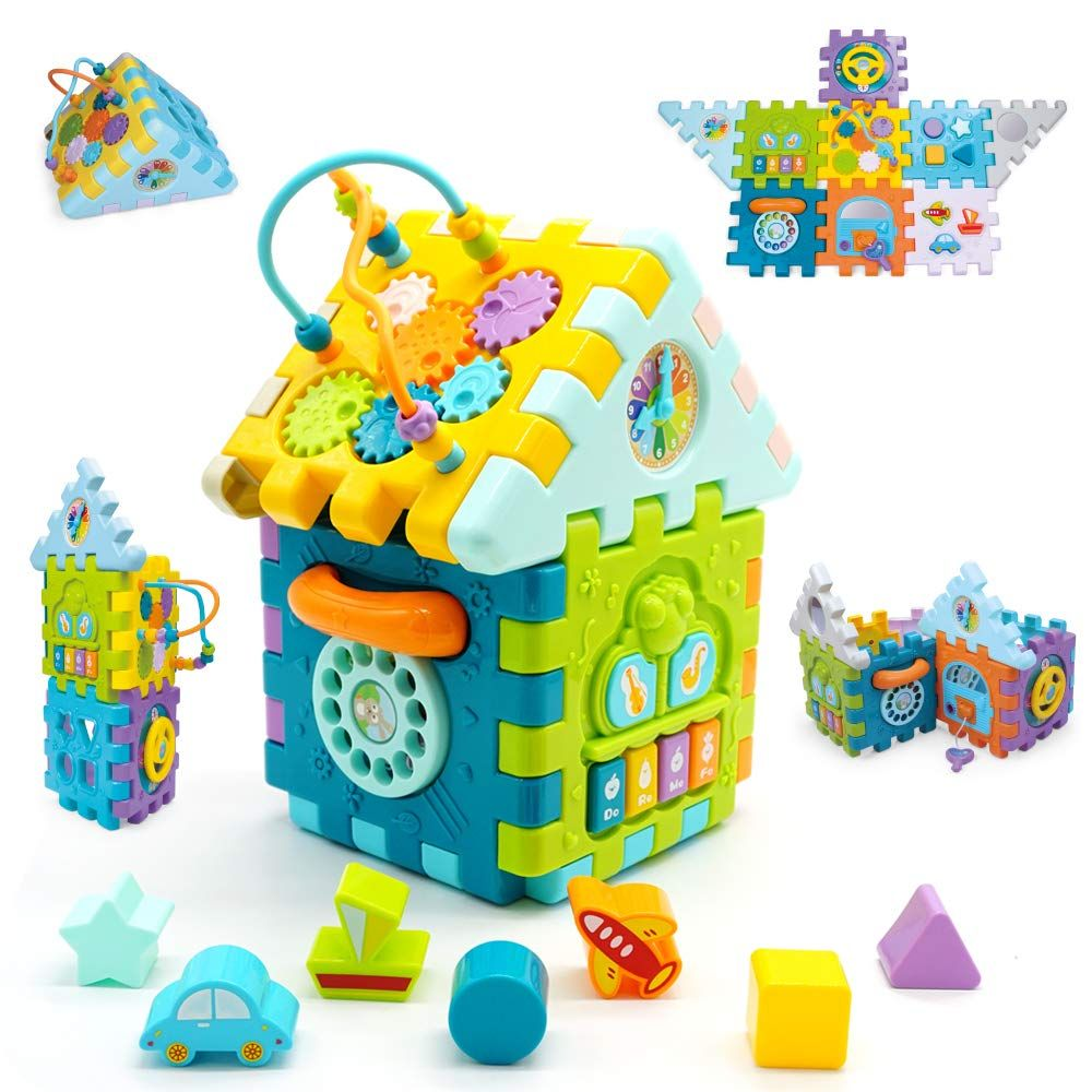 Motorikw Rfel Baby Aktivit T W Rfel Spiele Center Unbegrenzte Kombination Baby Spielzeug Musika In 2020 Geschenke Fur Kleinkinder Adventskalender Baby Baby Aktivitaten