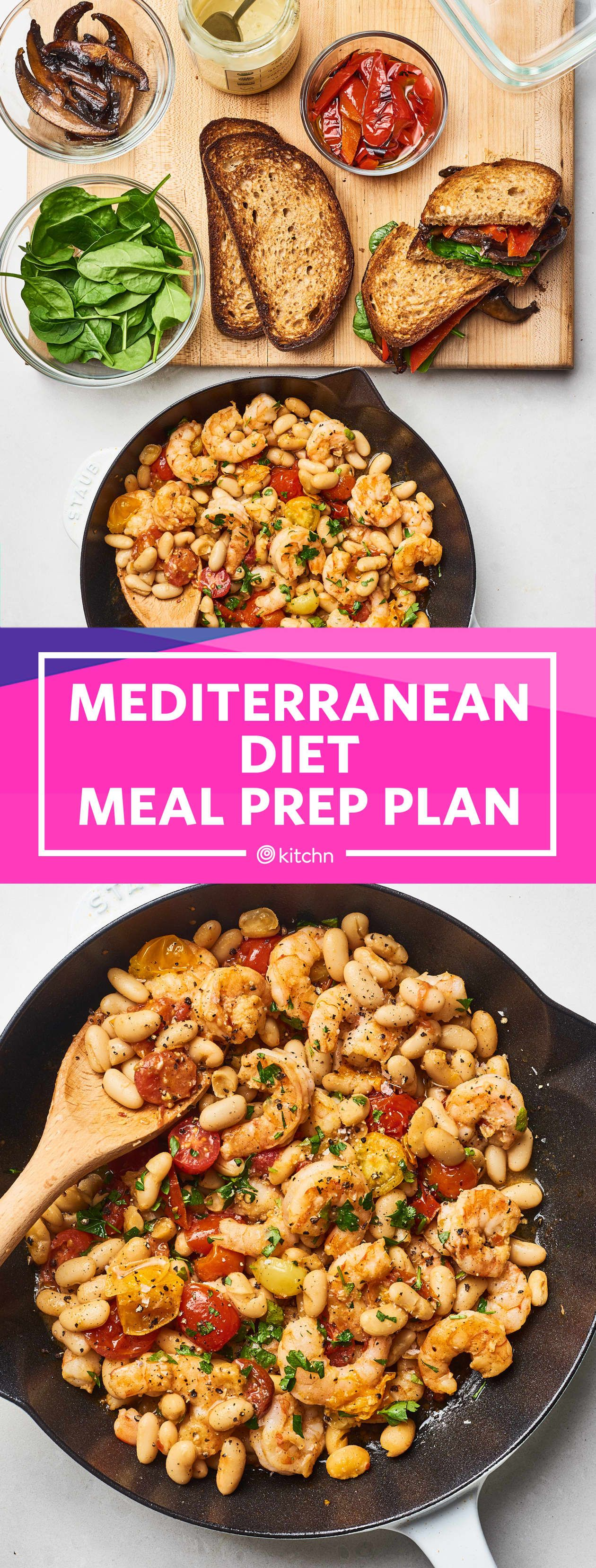 Meal Prep Plan: How I Prep a Week of Easy Mediterranean Diet Meals #ketomealplan