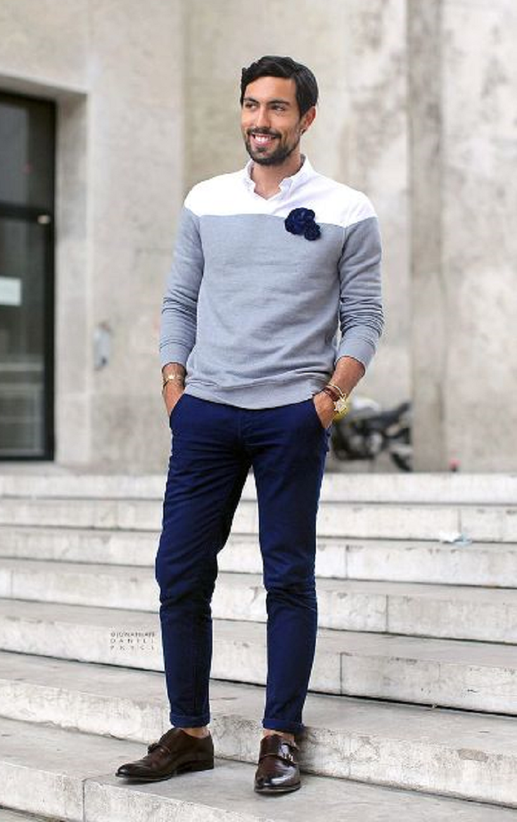22 elegant men outfits with monk strap shoes  mens