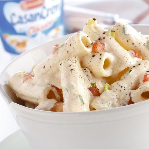 Macarrones con salsa crema de tomate por casancrem for Ideas para cocinar pasta