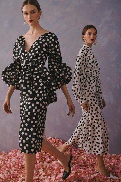 Carolina Herrera Resort 2020 collection, runway looks, beauty, models, and reviews.