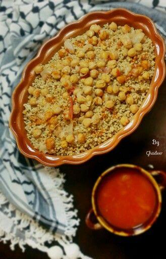 مفتول فلسطيني Palestinian Food Arabic Food Food