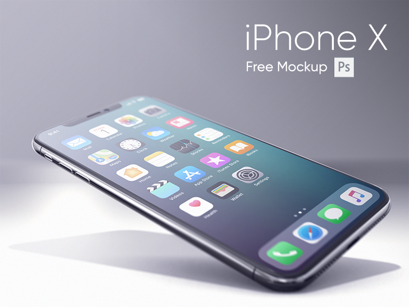 Iphone X Realistic Mockup Iphone Free Iphone Mockup Free Psd