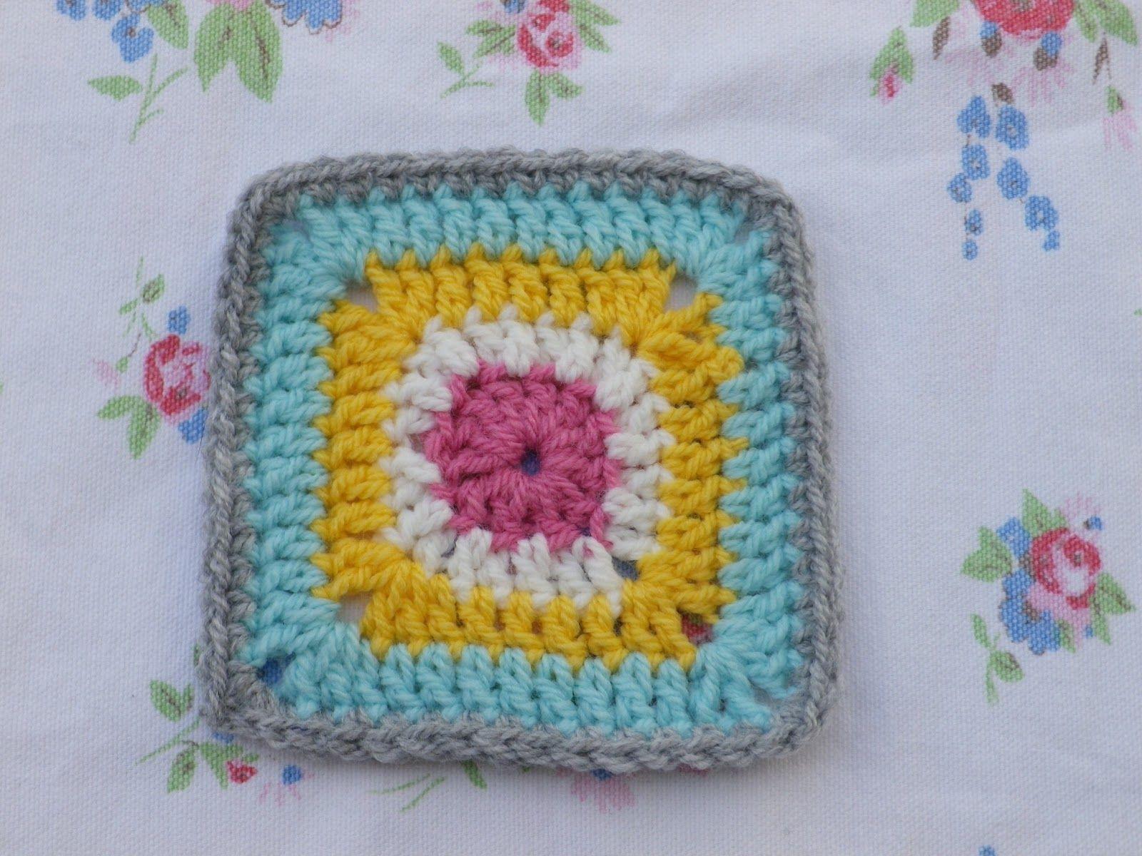 Simply Crochet Granny a Week - week four Granny Doris | Crochet ...