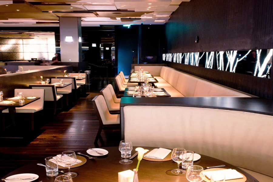 Modern Upscale Fine Dining Furniture Design Brand Restaurant