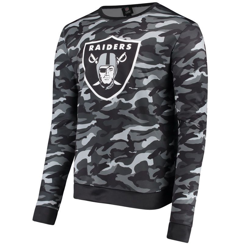 NFL Oakland Raiders Sweatshirt Mens Official Team Apparel Sweater