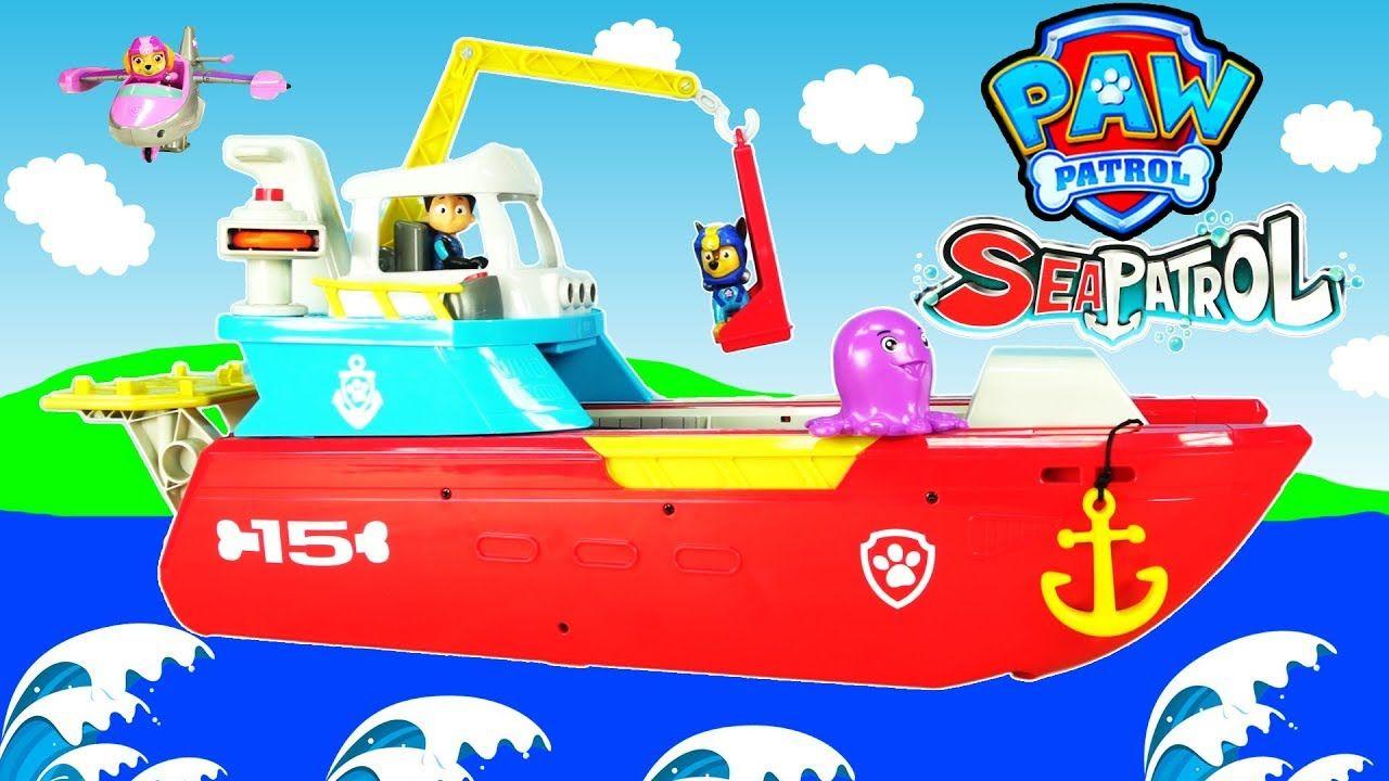 Quatang Gallery- Paw Patrol Sea Patroller Kids Toy Adventure Sea Patrol Rescue A Baby Octopus Chase Marshall Rubble Baby Octopus Kids Toys Kids
