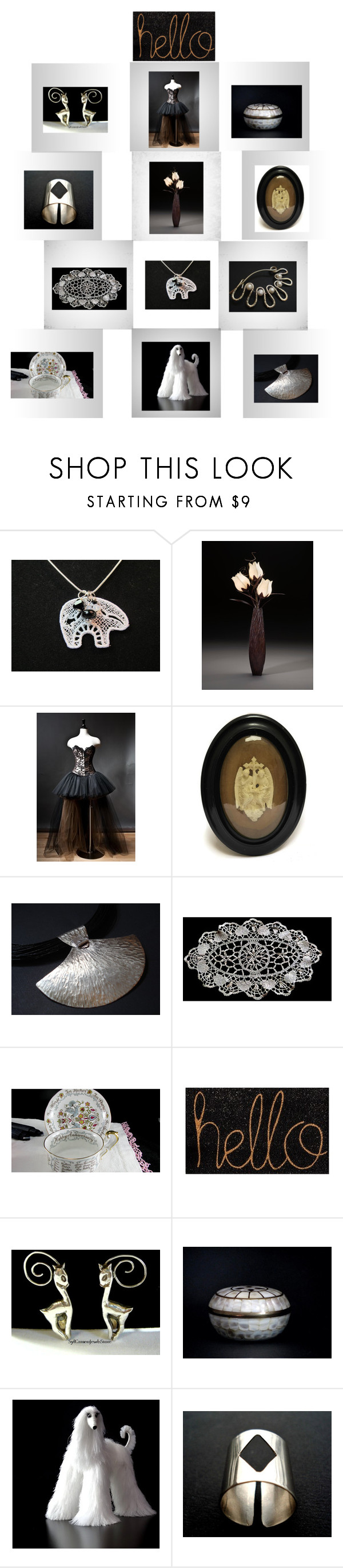 """Unique Gifts on Etsy"" by anna-recycle ❤ liked on Polyvore featuring modern, rustic and vintage"