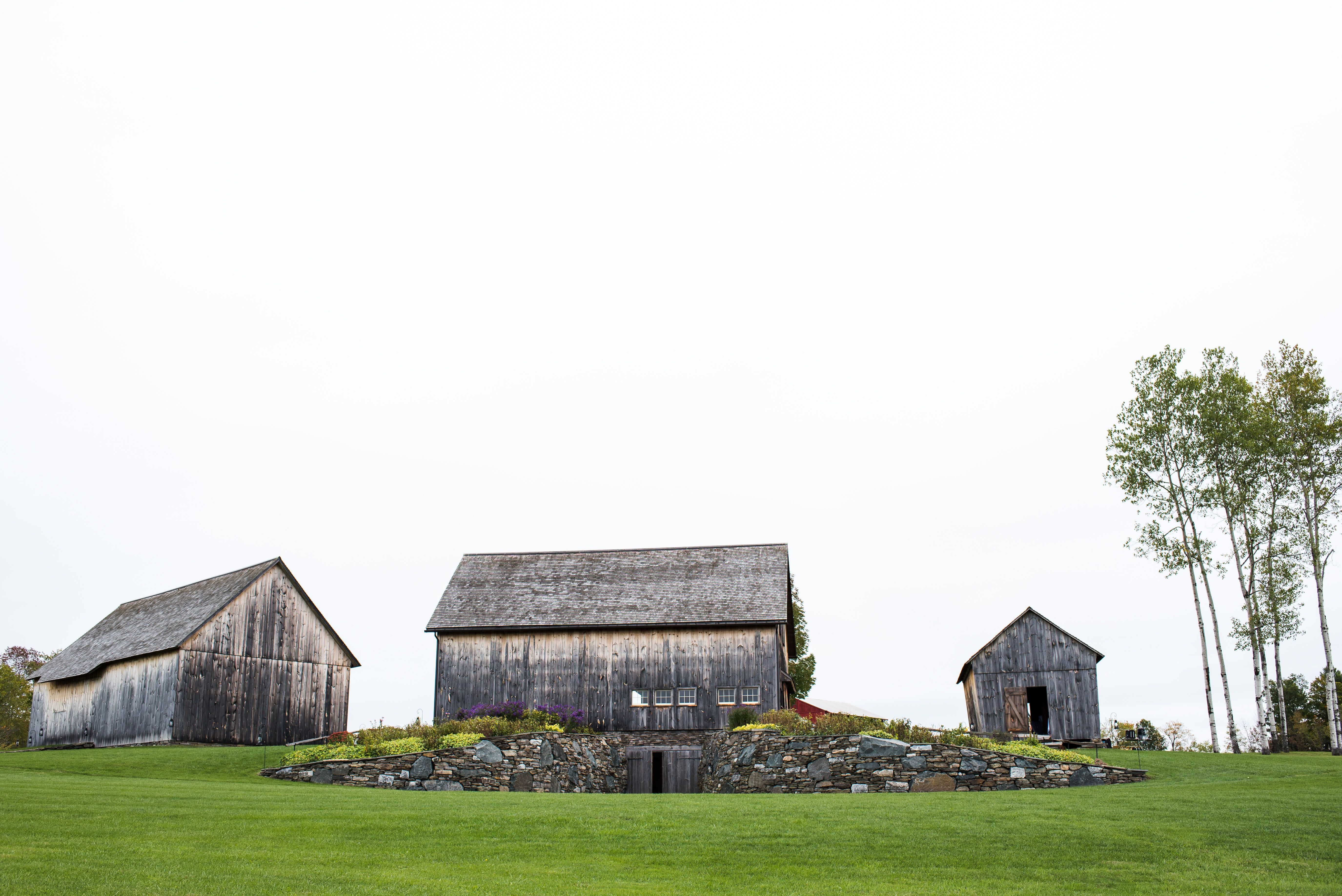 50s wedding decoration ideas  The Historic Barns of Nipmoose perched on a grassy knoll in the