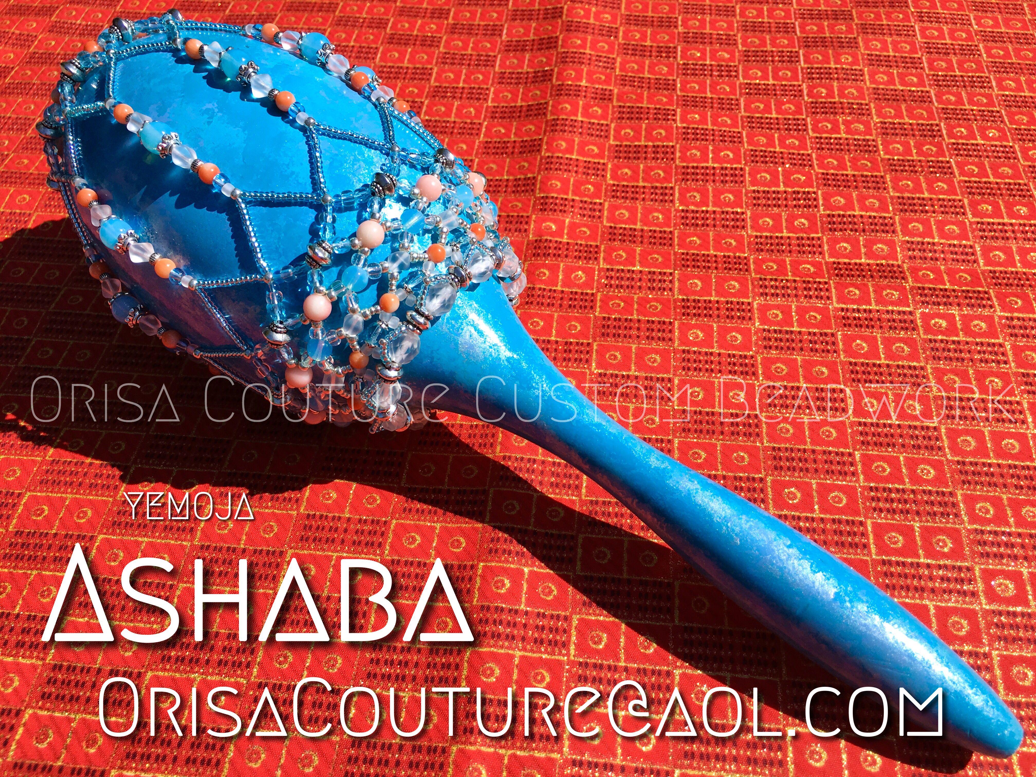 Ashere Yemoja Ashaba For Inquires Please Send An Email To Orisacouture Aol Com Ashere Asere Yemoja Yemaya Ashaba Asaba Orisa Orisha Lukumi Santeria
