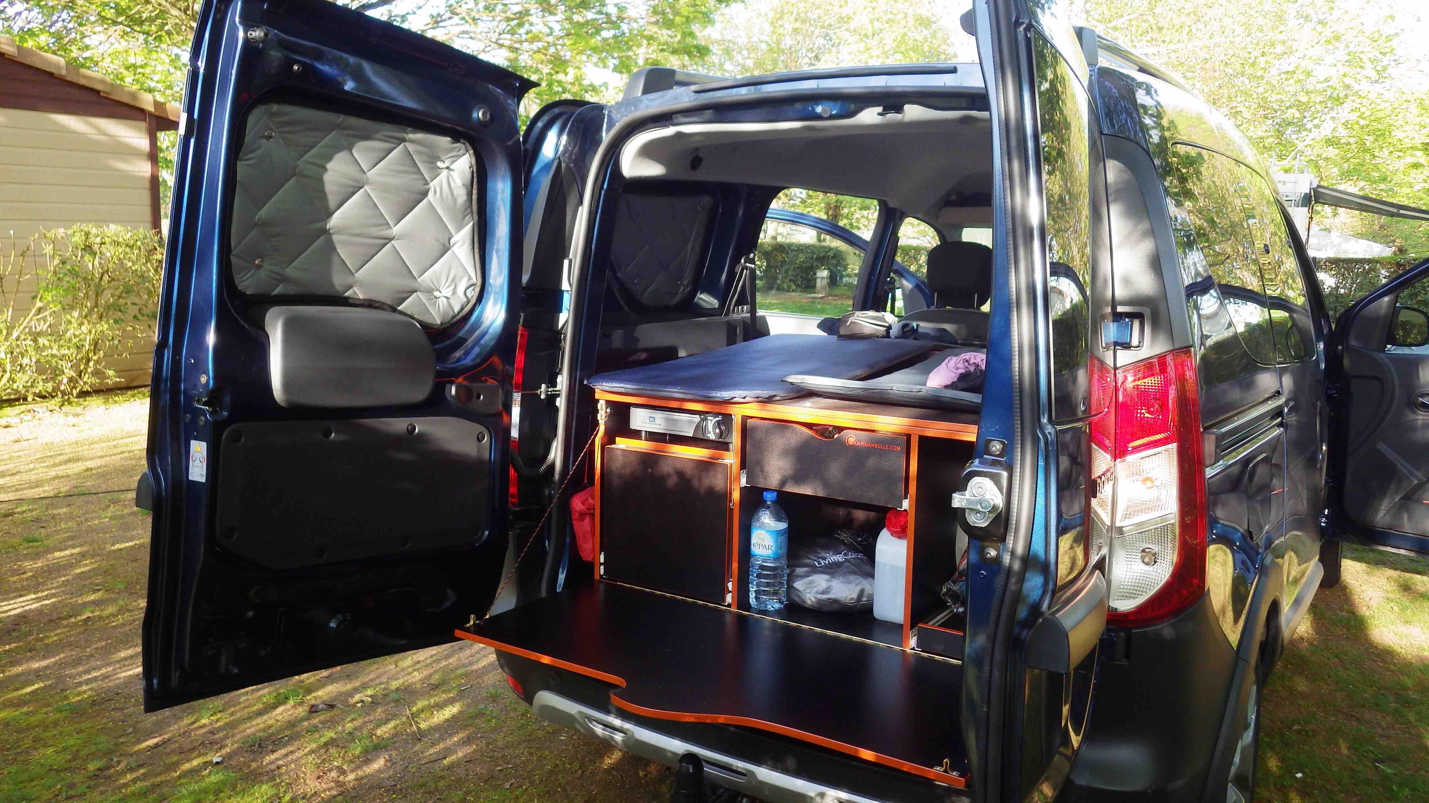 Épinglé sur CAMPINAMBULLE - Aménager son véhicule en mini ...