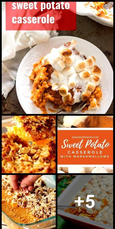 Vegan Marshmallow Sweet Potato Casserole #veganmarshmallows Vegan Marshmallow Sweet Potato Casserole,  #Casserole #Marshmallow #Potato #Sweet #Vegan #sweetpotatocasserole