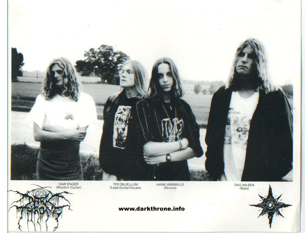 Darkthrone 1990 Deathmetal