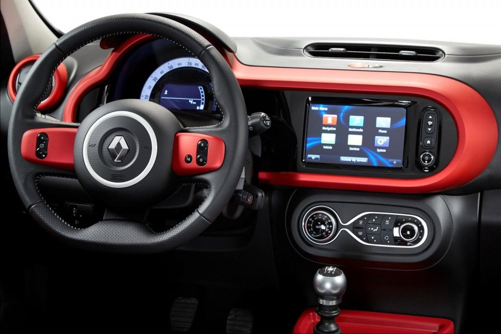 New Renault Twingo Live From Geneva Car Interior Design New