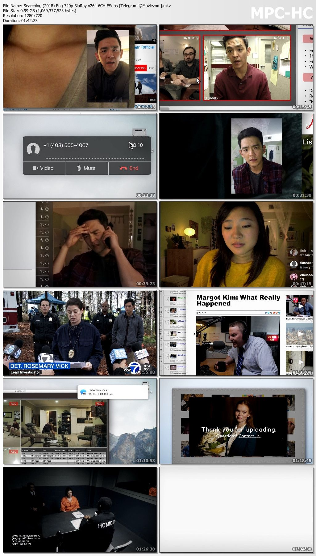 Searching 2018 English BluRay 480p 720p in 2019