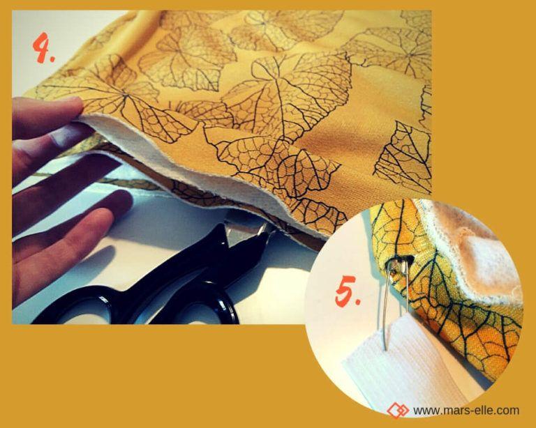 Tuto couture : la jupe molletonnée facile et stylée