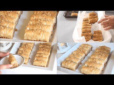 أطيب بقلاوة تركية باللوز إقتصادية سهلة التحضير مذآآق لا يقاوم X2f حلويات رمضان 2017 Youtube Desserts Baking Food