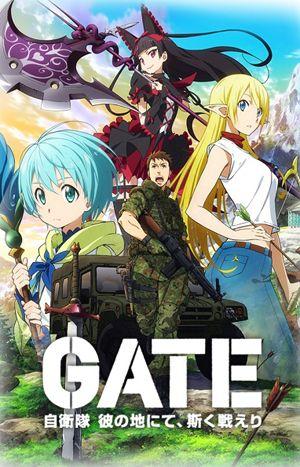 gate jieitai kanochi nite kaku tatakaeri watch anime online