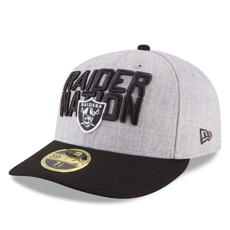 best sell low priced sleek Oakland Raiders New Era 2018 NFL Draft Official On-Stage Low ...