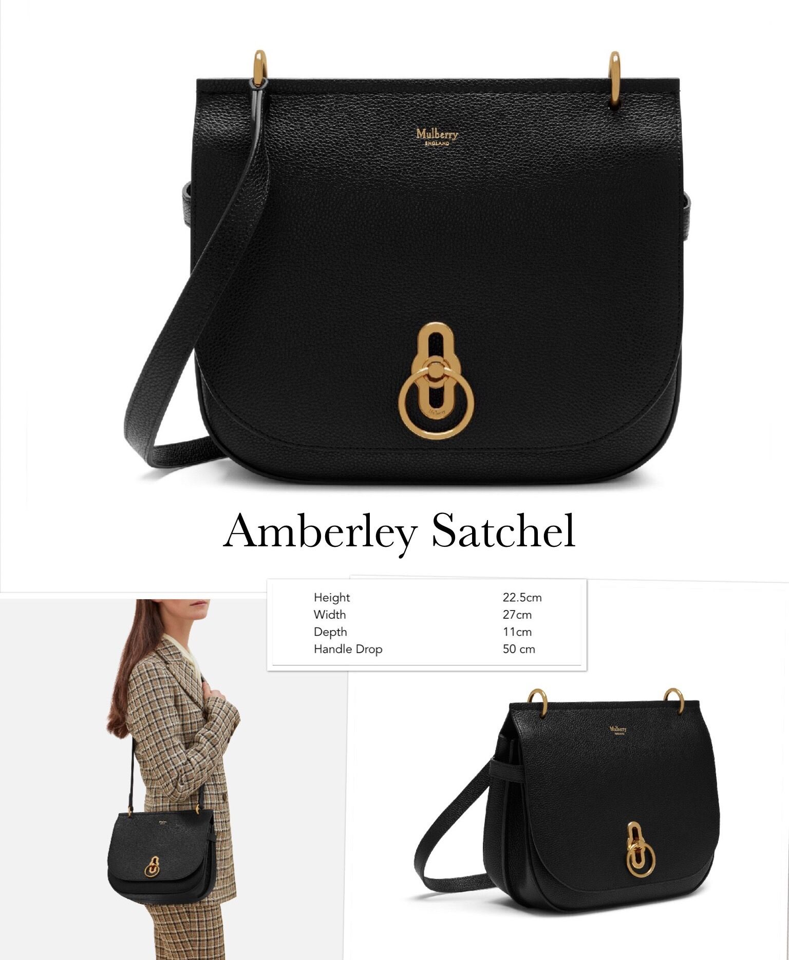 83e51d4c9936 Mulberry Amberley Satchel FW2017 Bags 2017