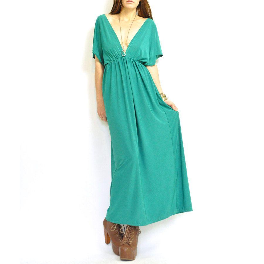 S teal deep v grecian maxi dress maxi dresses teal and sassy girl