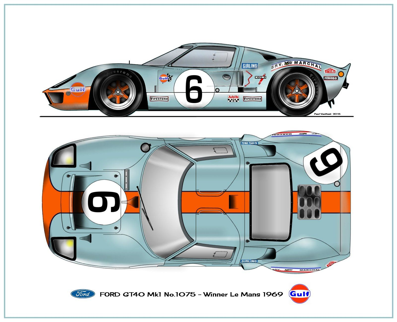 Ford Gt 40 1969 Ford Gt Ford Racing Ford Gt40