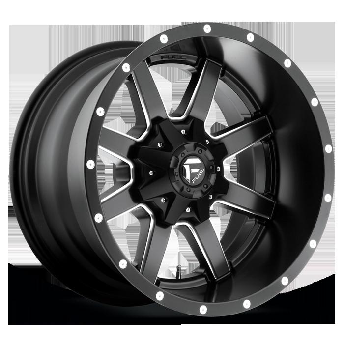Maverick D538 Fuel Wheels Black Wheels