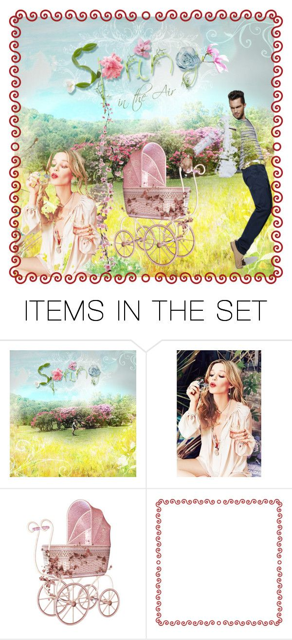 """""""Spring in the Air"""" by giovanina-001 ❤ liked on Polyvore featuring art"""