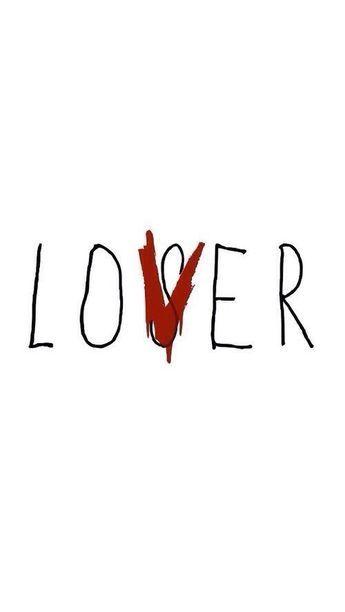 Lover Loser Wallpaper : lover, loser, wallpaper, Loving, Loser!, Pennywise,, Stephen, King,, Stranger, Things, Wallpaper