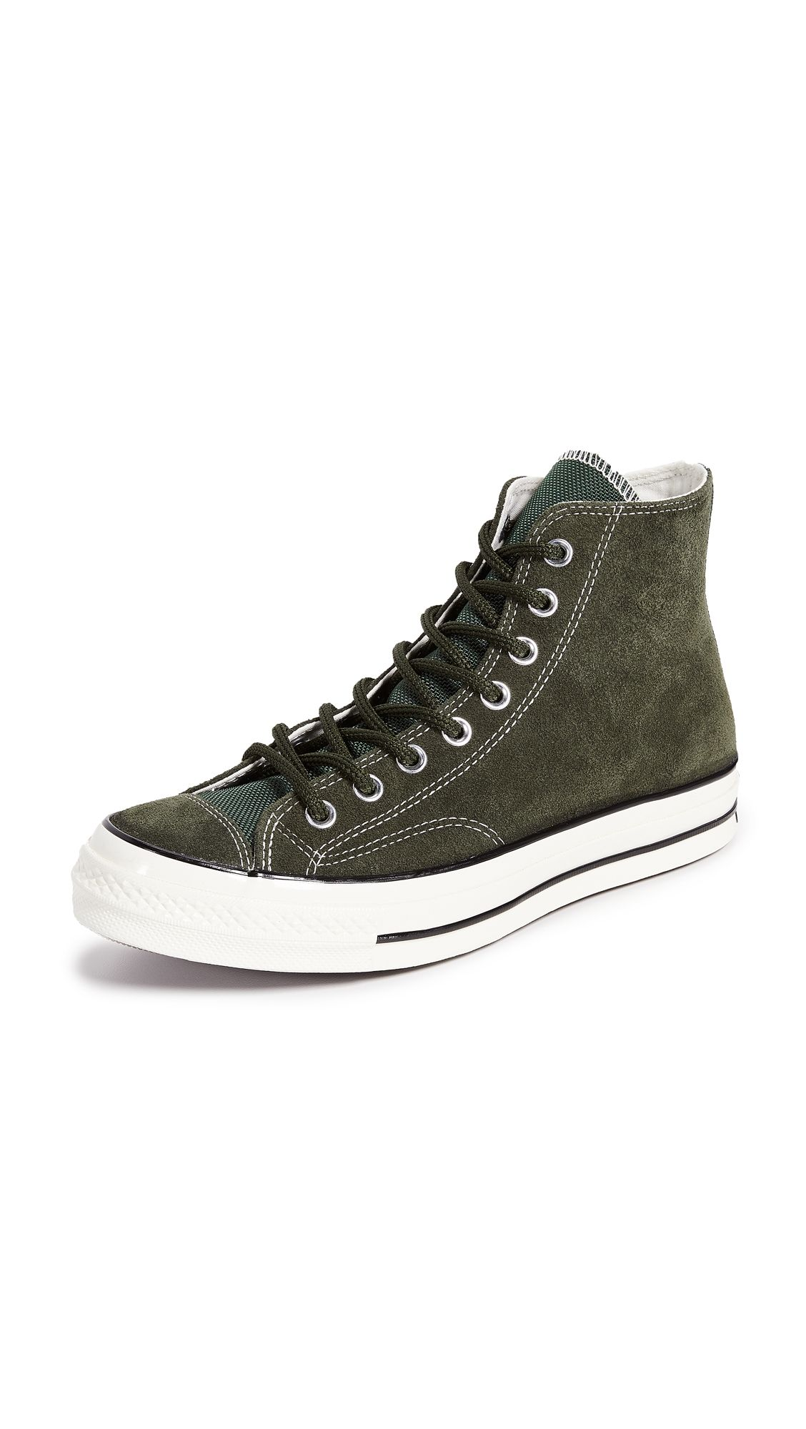 65c21503b712 CONVERSE CHUCK TAYLOR 70 BASE CAMP SUEDE HIGH TOP SNEAKERS.  converse  shoes