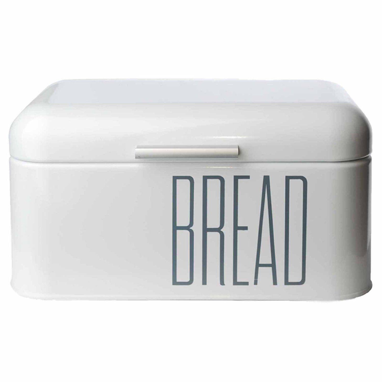 Brotbox Brotkasten Aufbewahrungsbox weiß