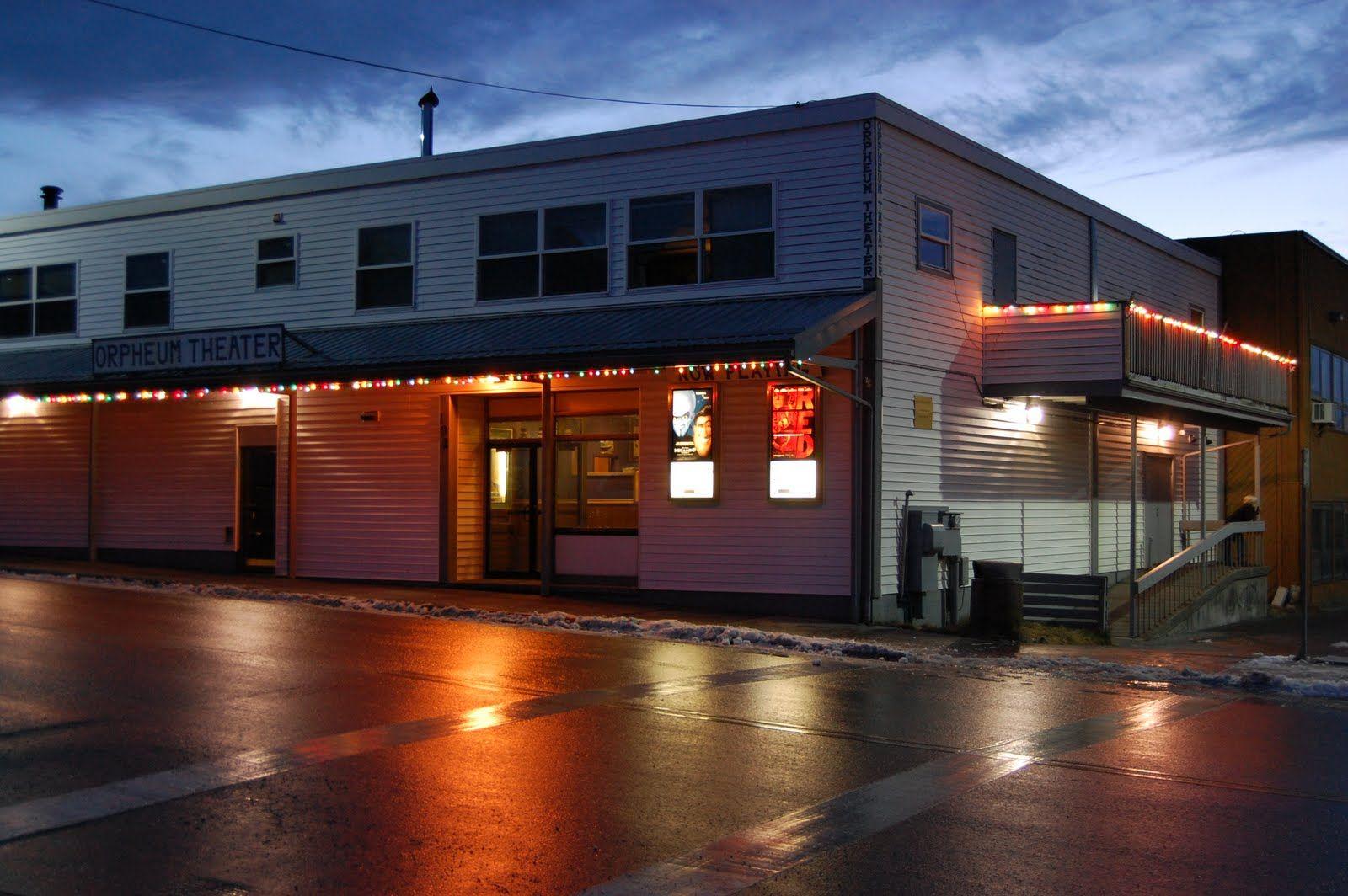 Orpheum Theater Kodiak House Styles City Landscape Mansions