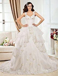 HONORATA - Vestido de Novia de Organza – CLP $ 450.729