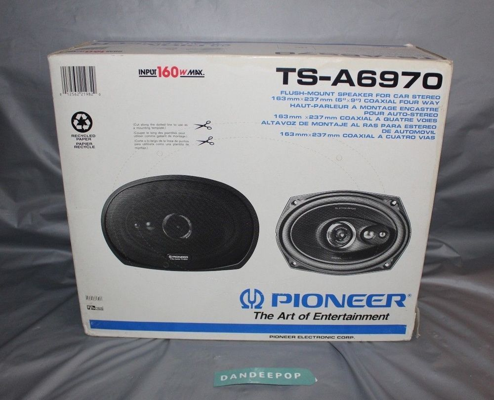 Pioneer Ts A6970 Car Audio Speakers 6 X 9 With Box Electronics Your System Diagram Page 10 Diymobileaudiocom Caraudio Tsa6970 Dandeepop Find Me At Dandeepopcom