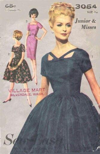 Pin von Natalia Alejandre auf Década 1950 Moda | Pinterest | Vintage ...