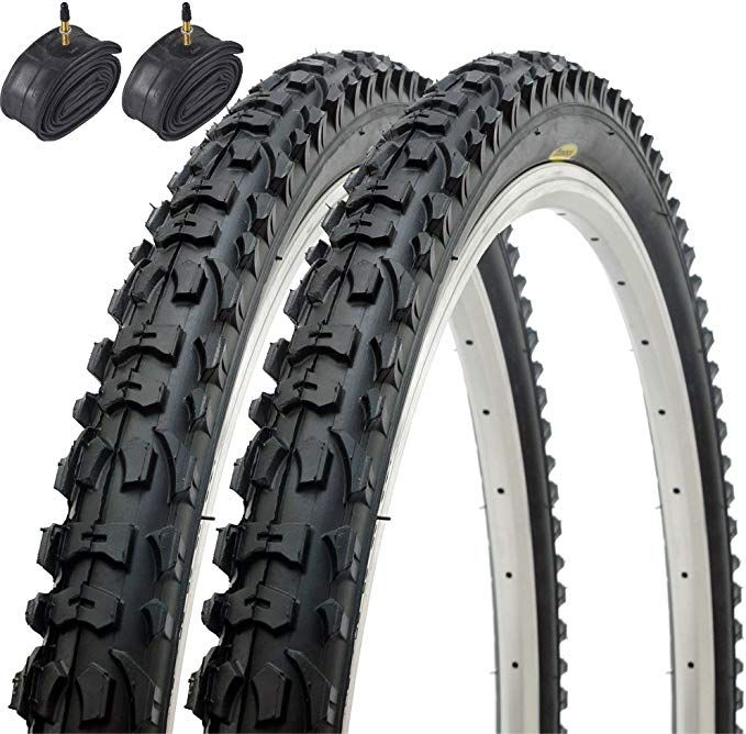 Fincci Paar Mtb Mountain Hybrid Bike Fahrrad Faltbar Reifen 26 X 1 95 53 559 Und Sclaverandventil Sc In 2020 Fahrrad Reifen Fahrradteile